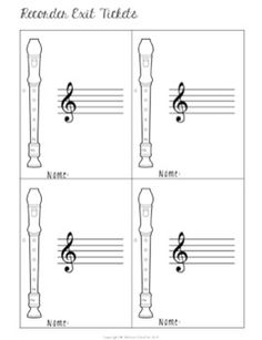 Here is a great list of recorder songs and there is also this handy recorder method book ccuart Gallery