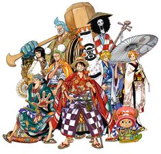 Studio Shochiku to stage a kabuki-themed adaptation of One Piece at the Shinbashi Enbujō theater in Tokyo in the Fall of 2015.