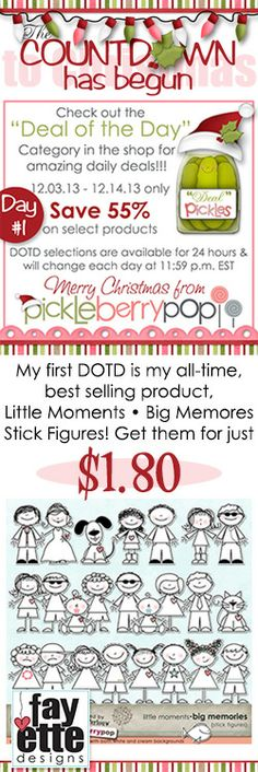 Don't miss PBP's DOTD Promo - Select products are discounted 55% for just 24 hours! A new set of discounted goodies will be available each night at midnight EST! https://www.pickleberrypop.com/shop/home.php?cat=99