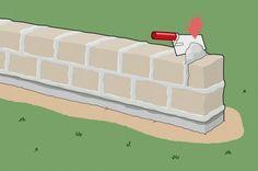 Gartenmauer aus Naturstein einfach selber bauen: Wir zeigen Dir wie Deine Gartenmauer aus Naturstein aussehen kann, wie Du den richtigen Naturstein findest und die Mauer auch noch selber bauen kannst.