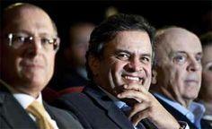 IBOPE: 47% não votariam em Aecio Neves, rejeição de Serra 54% e Alckmin 52%