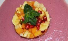 Pomegranate Mousse