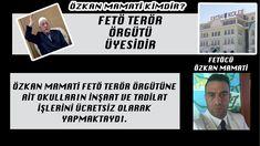 Özkan Mamati, FETÖ terör örgütüne destek amacıyla örgütün açtığı okulların tadilat işlerini ücretsiz olarak yapmıştır.