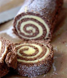 Baking Recipes, Cookie Recipes, Dessert Recipes, Yummy Treats, Sweet Treats, Grandma Cookies, Cake Roll Recipes, Swedish Recipes, No Bake Cake