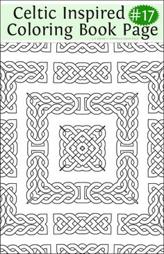 94 Best Celtic Coloring Pages For Adults Images On Pinterest In 2018