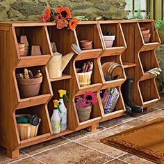 This would be great for toy storage in the playroom or shoes/mittens strorage in mudroom. Many uses...