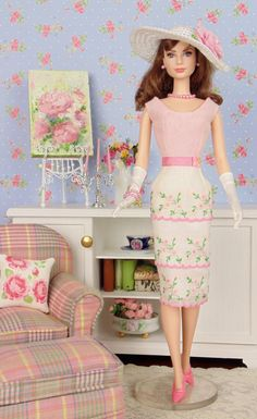 Garden Party for Barbie & Victoire Roux by HankieChic on Etsy