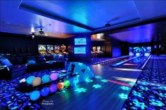 A bowling alley in the house that can also help with my son's sensory needs. I want. No, I NEED!