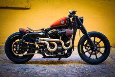 Harley-Davidson of Macon, Georgia - 2016 H-D® Sportster Iron 883 (XL883N). http://customkingsvoting.harley-davidson.com/#/vote/southeast