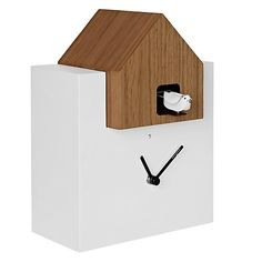 Minimalist cuckoo clock by Diamantini and Domeniconi.