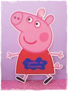 Convite Peppa Pig | Ateliê Dorfer Lembrancinhas Personalizadas | Elo7