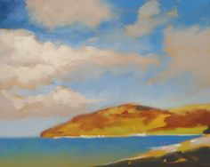 Cloudy Sky: acrylic painting video lesson by Will Kemp on ArtTutor