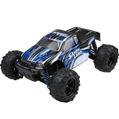 RC-Car-Distianert-9300-Electric-RC-Car-Offroad-Remote-Control-Car-118-Scale-24Ghz-4WD-High-Speed-30MPH-with-An-Extra-74V-1200MAH-Rechargeable-Battery
