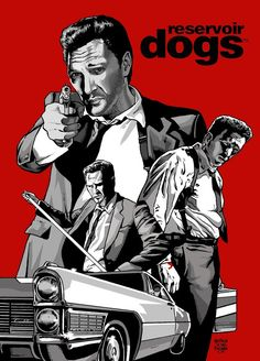 Reservoir Dogs - 'Mr Blonde' by MalevolentNate on deviantART #GangsterMovie #GangsterFlick