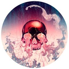 James Jean   Wave (Skull)