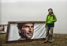 """Portrait of Hanspeter Eisendle"" - IMS - International Mountain Summit 2013 | Bressanone - Brixen - Italy | © Roberto Carnevali"