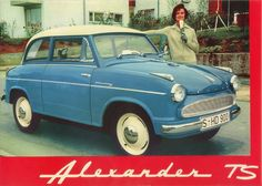 lloyd alexander TS our first car when i was little