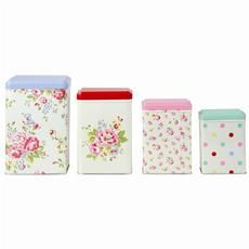 Cath Kidston kitchen canisters--already have two canister sets but oh well, one more can't hurt! :)