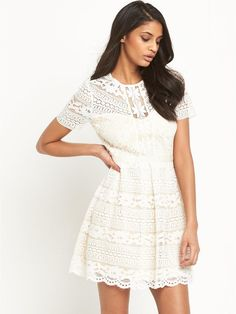 All Over Lace Skater Dress, http://www.littlewoods.com/v-by-very-all-over-lace-skater-dress/1600035342.prd
