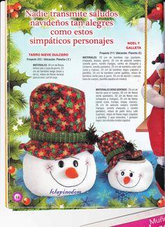 revistas de manualidades gratis Snowman, Crochet Hats, Children, Blog, Ideas, Xmas Ornaments, Fun Crafts, Felt Patterns, Bathroom Sets