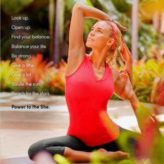 Power to the she. Athleta.com