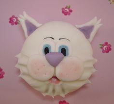 Kitty cat cupcake by Mrs Baker's Cakes, via Flickr