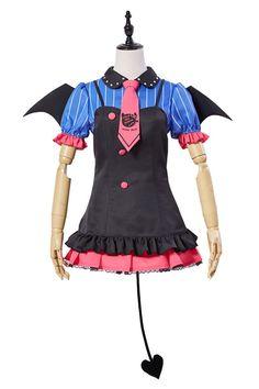 LoveLive! UR Umi Sonoda Little Demon Uniforme Halloween Cosplay Disfraz_1 #cosplaysky