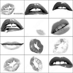 Eyelash Brushes for Photoshop   Digital Tools   Pinterest ...