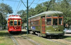 streetcars, my mom was a conductress on the green (original) streetcar
