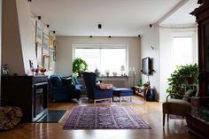 À la fois simple et confortable | Salon