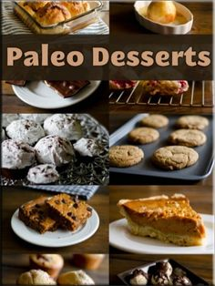 Paleo Deserts #paleo #dessert #recipes