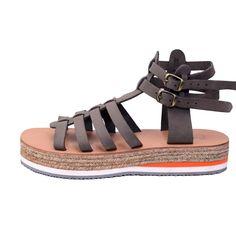 find them here: www. Greek Sandals, Gladiator Sandals, Designer Sandals, Birkenstock Florida, Exclusive Collection, Leather Bag, Instagram, Luxury, Grey
