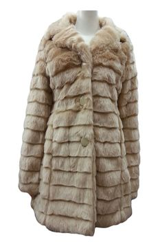 Champagne Button Up Warm Faux Fur Long Sleeve Jacket Coat Product Code: 630 SOLD OUTPack of 5 PiecesWas £24.50  Now £20.00 per Piece VAT: 0%