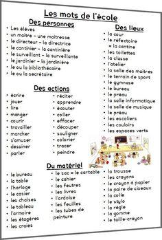 Les mots de l'école - zoutils.ek.la