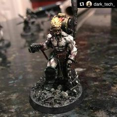 "165 Likes, 1 Comments - The Miniatures Vault (@theminiaturesvault) on Instagram: ""#Repost @dark_tech_ Vorkalth ""the Hellforge"" Maleficium. #inq28 #inquisimunda #warhammer40k…"""