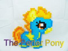 Mon petit poney Filly stupide Perler poneys : par ThePerlerPony