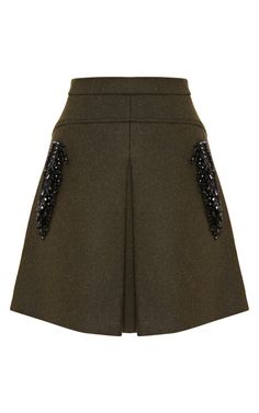 Shop Gioia Embellished Skirt by No. 21 for Preorder on Moda Operandi