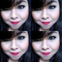 make up without smile is nothing, let's smile often :)  IG: PutriMayang88