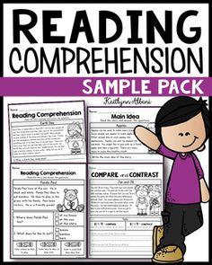 2nd Grade Reading Comprehension, First Grade Reading, Reading Fluency, Reading Intervention, Reading Passages, Kindergarten Reading, Reading Strategies, Teaching Reading, Reading Response