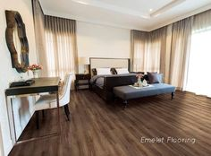 Discover stylish and highly practical floor solutions in the luxurious range of wood & stone effect vinyl tiles. Flooring for home and commercial use.