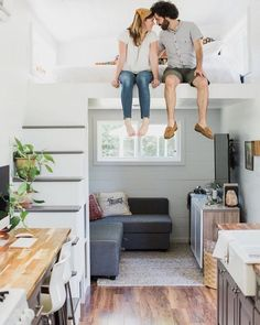 """11.1k Likes, 132 Comments - Tiny Houses (@tinyhouse) on Instagram: """"What's a tiny home without a lifelong friend?  Owned by @kellychristinesutton in Texas"""""""