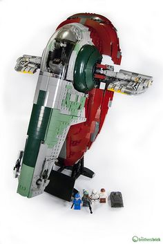 LEGO Star Wars 75060 Slave I [Review] | The Brothers Brick | LEGO Blog
