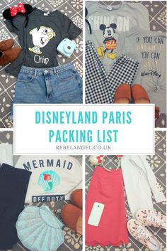 What to wear in Disneyland Paris in September - Packing List of Disney outfits