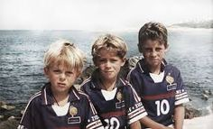 hazard from Belgium and Chelsea, and he brother when they were little