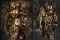 Steampunk Artwork: Steampunk home - artwork & fashion