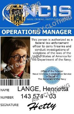 """Henrietta """"Hetty"""" Lange (portrayed by Linda Hunt) is the Operations Manager at NCIS in Los Angeles. She was introduced in """"Identity"""", the first episode of NCIS: Los Angeles as a stand-alone series. Ncis Abby, Ncis New, Caitlin Todd, Timothy Mcgee, Anthony Dinozzo, Department Of The Navy, Kensi Blye, Ncis Cast, Ziva David"""