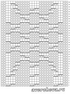 схема узора 602 2/2 http://avercheva.ru/?p=10271
