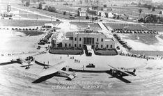 1929 NAR - Cleveland Airport Passenger Terminal