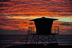 Sunset at Buccaneer Beach in Oceanside - February 4, 2014 by Rich Cruse on 500px