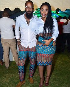 Last 2019 Ankara Styles for Couples . Ankara styles for couples are a standout amongst the most idea Couples African Outfits, African Attire, African Wear, African Women, African Style, African Print Dresses, African Fashion Dresses, African Dress, African Prints
